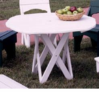 Uwharrie Chair Company�   The Harvest Collection  Round Picnic Table
