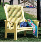 Uwharrie Chair Company�   The Hatteras Collection  Settee