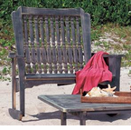 Uwharrie Chair Company�  The Hatteras Collection  Settee Rocker