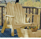 "Uwharrie Chair Company�  ""The Keep America Beautiful Series""  Fanback Two-Seater"