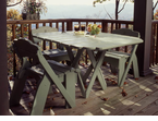 "Uwharrie Chair Company�   ""The Keep America Beautiful Series""   Square Picnic Table"