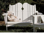 Uwharrie Chair Company�  The Nantucket Collection  Kid's Two-Seater