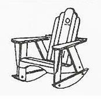 "Uwharrie Chair Company�   ""The Original Series""  Rocker"