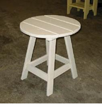 "Uwharrie Chair Company   ""The Original Series""   Round Side Table"