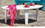 Uwharrie Chair Company�   The Wave Collection   Conversation Table