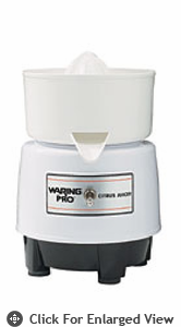 Waring Pro Citrus Juicer Quite White PCJ201