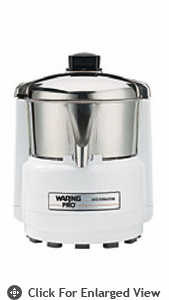 Waring Pro Juice Extractor Quite White & Stainless PJE401