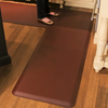 Wellness Mats 8' x 6' PuzzlePiece 2' Wide L Series (3-Piece Corner Mat Set) - Brown