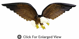 "Whitehall 24"" Patriotic Wall Eagle Multi-Colored"