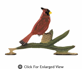 """Whitehall 30"""" Cardinal Weathervane Rooftop Color"""