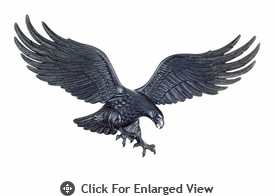 "Whitehall 36"" Patriotic Wall Eagle Black"