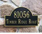 Whitehall  Arch Marker  Address Plaques