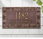 Whitehall  Aspen Standard  Address Plaques