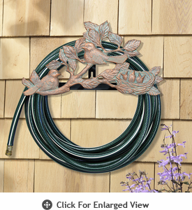Whitehall Chickadee Hose Holder  Copper Vendi