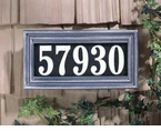 Whitehall   Classic Rectangle Illuminator  Address Markers