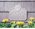 Whitehall  Conch Address Plaques