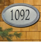 Whitehall  Concord Artisan Metal  Address Plaques