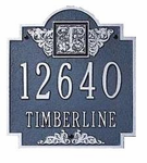 Whitehall   Decorative Address Plaques