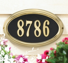 Whitehall DeSign-It Address Plaques Frame Only