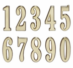 Whitehall  DeSign-it Numbers  Satin Brass
