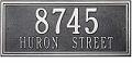 Whitehall   Double Line  Standard Address Plaques