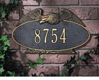 Whitehall   Eagle Oval  Address Plaques