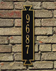 Whitehall  Exeter Vertical/Horizontal Address Plaques