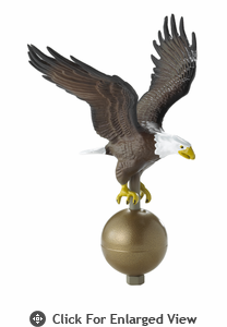 Whitehall Flagpole Eagle