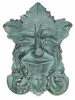 Whitehall Garden Smile Solid Brass Door Knocker