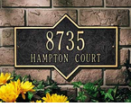 Whitehall  Hampton Address Plaques