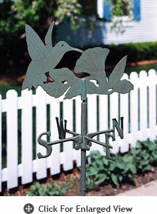 Whitehall  Hummingbird Garden Weathervanes