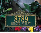 Whitehall   Ivy Address Plaques