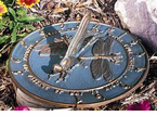 Whitehall   Large Aluminum Sundials