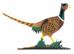 Whitehall  Large Country Bell  with Pheasant Ornament