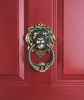 Whitehall Leo Solid Brass Door Knocker