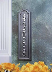 Whitehall  Manchester Vertical  Address Plaques