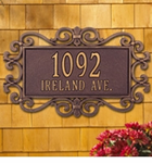 Whitehall  Mears Fretwork  Address Plaques