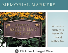 Whitehall Memorial Markers