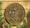 Whitehall Minutes & Degrees™Pinecone Thermometer Clocks