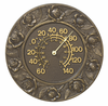 Whitehall  Minutes & Degrees� Rose Thermometer or Clock