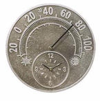 Whitehall  Minutes & Degrees�   Thermometer Clocks