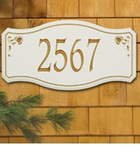 Whitehall  New Amsterdam  Address Plaques