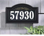 Whitehall  Oakleaf Arch Illuminator  Address Marker