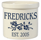 Whitehall Personalized 2 Gallon Ceramic Dogwood Crock Version A