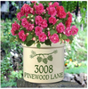 Whitehall Personalized 2 Gallon Ceramic Pine Bough Crock Version B