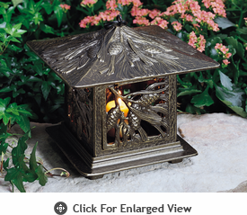 Whitehall Pinecone Tea Lantern French Bronze