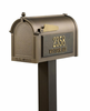 Whitehall  Premium Mailbox Package Bronze