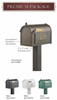 Whitehall  Premium Mailbox Package Green