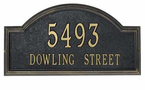 Whitehall  Providence Arch  Address Plaques
