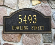 Whitehall Providence Arch Estate Wall Plaque Two Lines